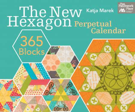 The New Hexagon Perpetual Calendar 365 Blocks, Englisch