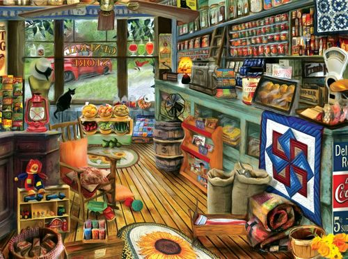 "Puzzle ""Shopping Day"", amerikanischer Laden, 1000 Teile"
