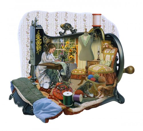 "Puzzle ""Sewing Memories"", 1000 Teile"